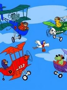 Dastardly and Muttley and Their Flying Machines Stop the Pigeon