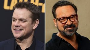Matt Damon, James Mangold