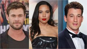 Chris Hemsworth, Miles Teller ve Jurnee Smollett, Netflix Filmi 'Spiderhead'in Kadrosunda