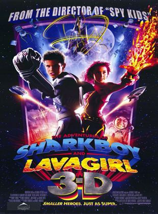Adventures of Shark Boy & Lava Girl in 3-D, The