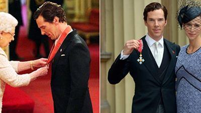 Benedict Cumberbatch'e Britanya İmparatorluk Nişanı!