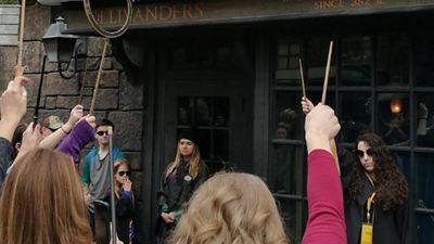 Harry Potter Hayranlarından John Hurt'e Sihirli Anma Töreni!