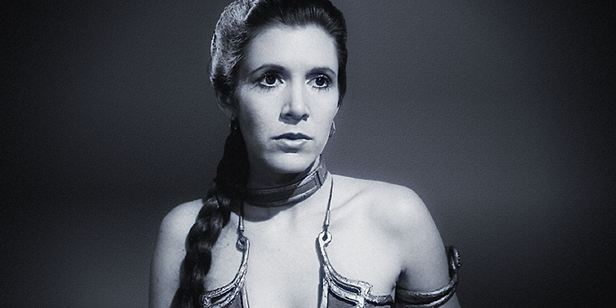 Carrie Fisher'a Son Veda!