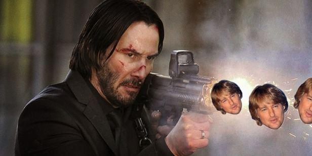 John Wick'e Owen Wilson Silahı!