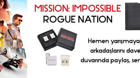 Mission: Impossible - Rogue Nation Yarışması Sonuçlandı