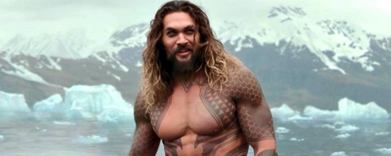 Jason Momoa'lı quot Aquaman quot den İlk Resmi Kare
