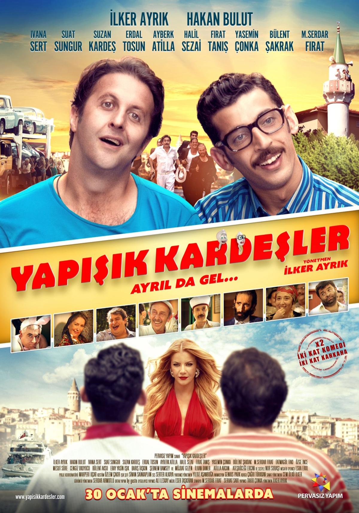 Tür komedi: izlemek için en iyi film