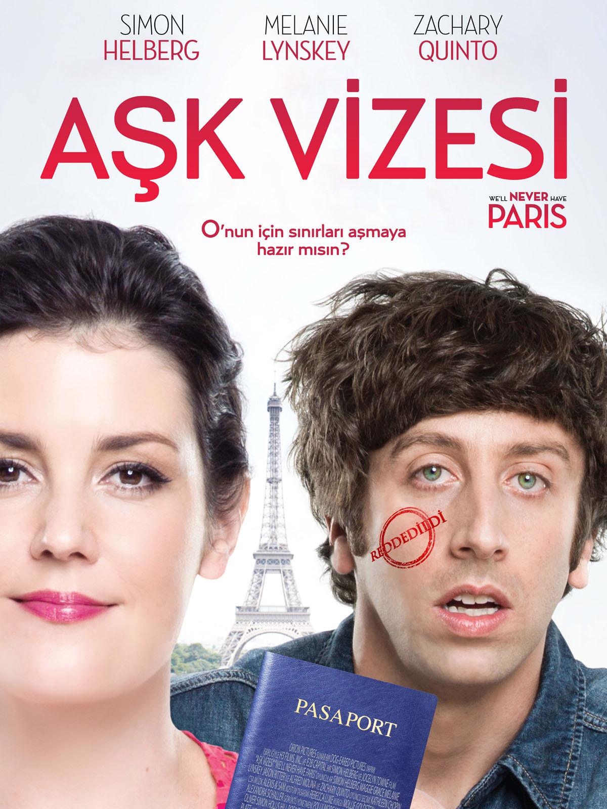 Aşk Vizesi We'll Never Have Paris 720p Turkce Dublaj izle Full Hd Film izle | full film izle | film izle | hd film izle