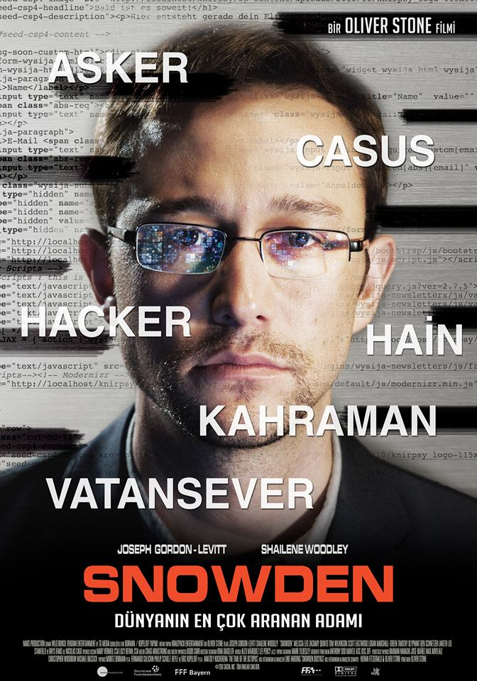 Snowden Filmi Için Benzer Filmler Beyazperdecom