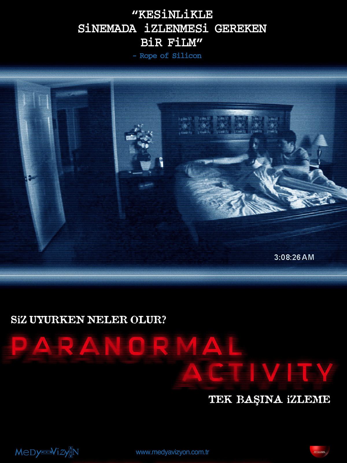paranormal activity ozeti