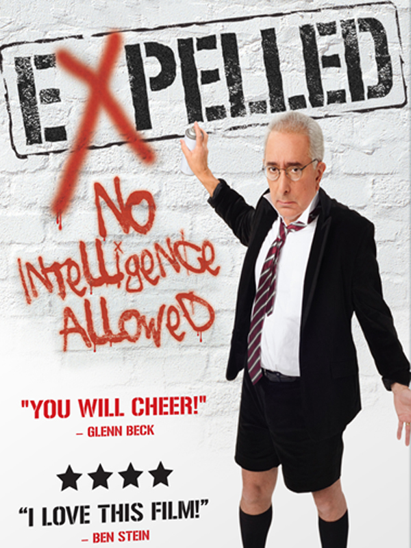 expelled no intelligence allowed Ben stein's new film expelled: no intelligence allowed, is a documentary that appears to be about intelligent design and the shortcomings of darwinism.