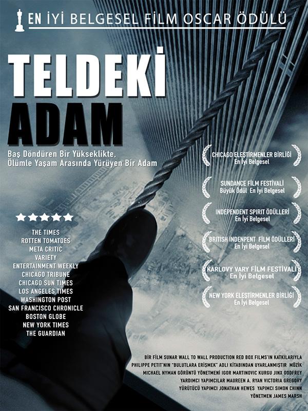 Teldeki Adam - Man on Wire - Beyazperde.com