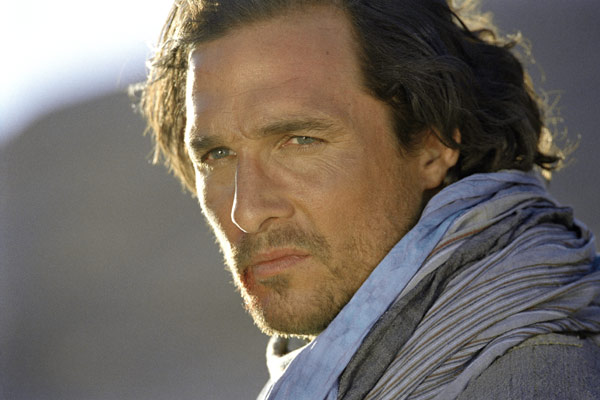 Sahara : Fotograf Matthew McConaughey