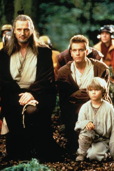 Star Wars: Bölüm I - Gizli Tehlike : Fotograf Ewan McGregor, Jake Lloyd, Liam Neeson