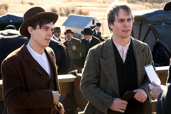Korkak Robert Ford'un Jesse James Suikasti : Fotograf Andrew Dominik, Casey Affleck, Sam Rockwell