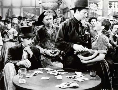 Fotograf Anthony Quinn, Barbara Stanwyck, Cecil B. DeMille