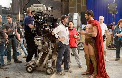 300 Spartali : Fotograf Gerard Butler, Zack Snyder