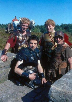 The Black Adder : Fotograf Hugh Laurie, Rowan Atkinson, Stephen Fry