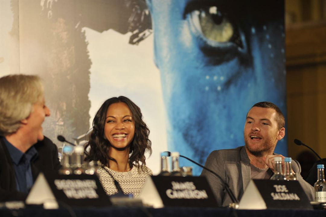 Avatar : Fotograf James Cameron, Sam Worthington, Zoe Saldana