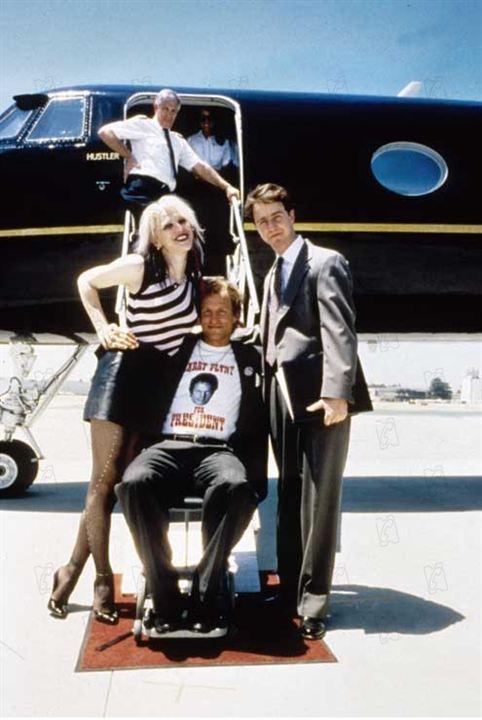 Skandalin Adi Larry Flynt : Fotograf Courtney Love, Edward Norton, Milos Forman, Woody Harrelson