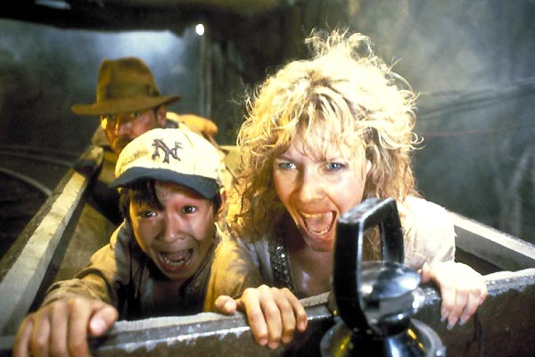 Indiana Jones: Kamçili Adam : Fotograf Harrison Ford, Kate Capshaw