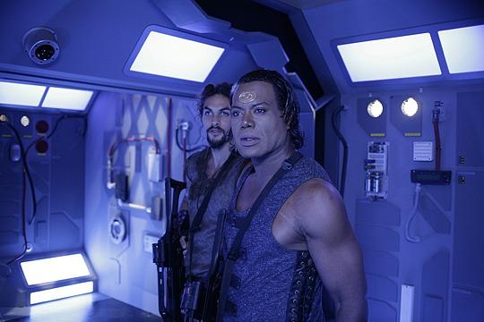 Stargate: Atlantis : Fotograf Christopher Judge, Jason Momoa
