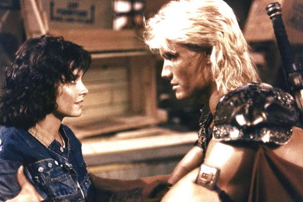 Masters of the Universe : Fotograf Courteney Cox, Dolph Lundgren