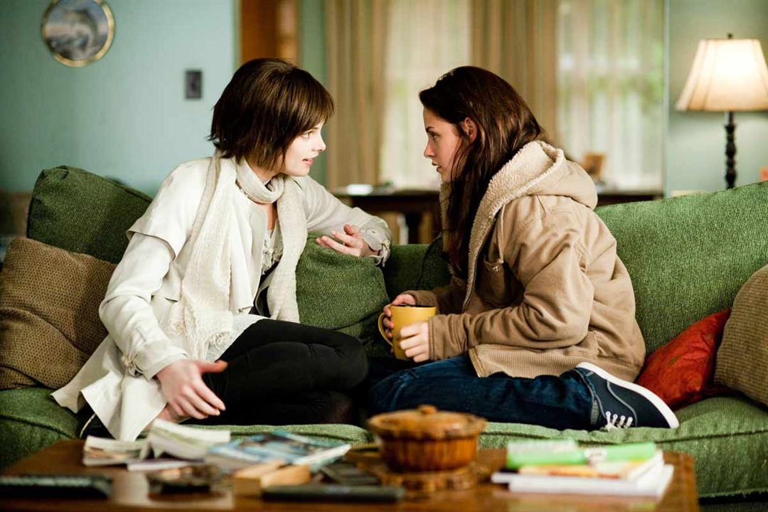 Alacakaranlik Efsanesi: Yeni Ay : Fotograf Ashley Greene, Kristen Stewart, Stephenie Meyer