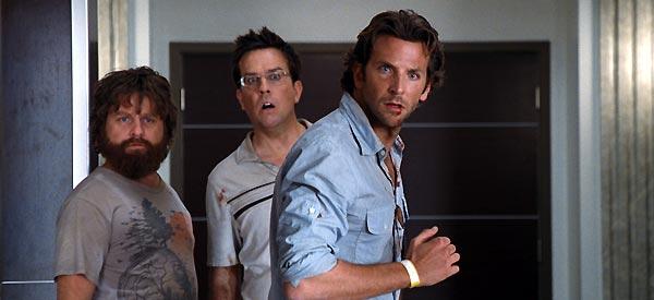 Felekten Bir Gece : Fotograf Bradley Cooper, Ed Helms, Zach Galifianakis