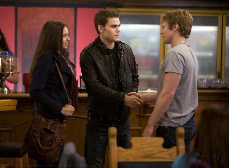 The Vampire Diaries : Fotograf Nina Dobrev, Paul Wesley, Zach Roerig