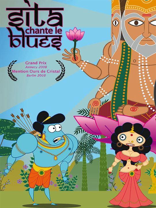 Sita Blues Söylüyor : poster Nina Paley
