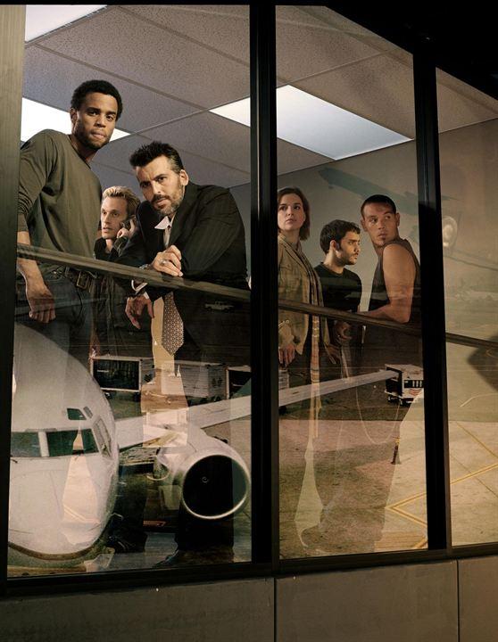 Sleeper Cell : Fotograf Henri Lubatti, Kevin Alejandro, Michael Ealy, Oded Fehr, Omid Abtahi