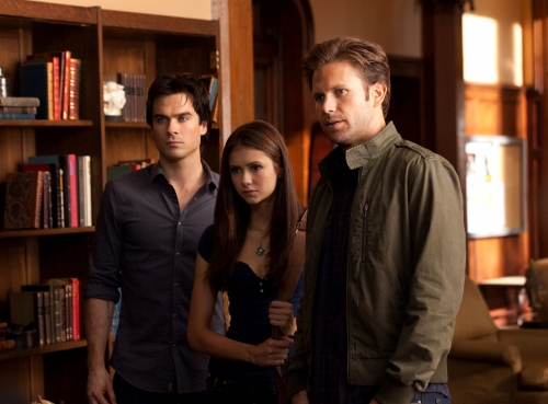 The Vampire Diaries : Fotograf Ian Somerhalder, Matthew Davis, Nina Dobrev
