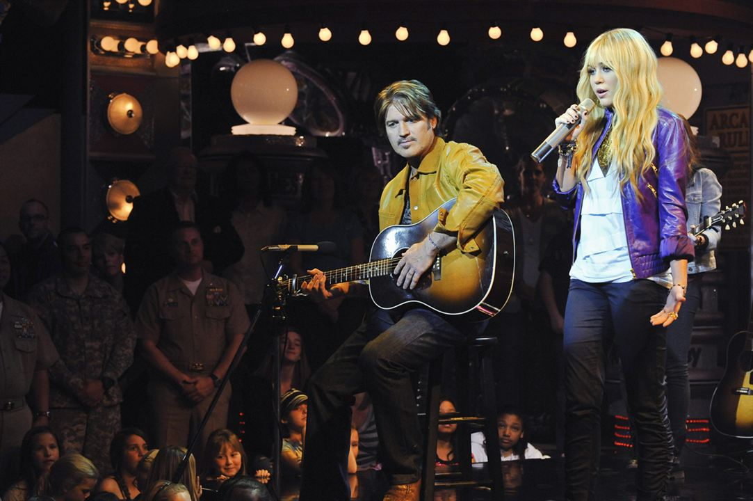Hannah Montana : Fotograf Billy Ray Cyrus, Miley Cyrus