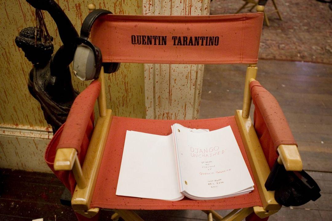Zincirsiz : Fotograf Quentin Tarantino