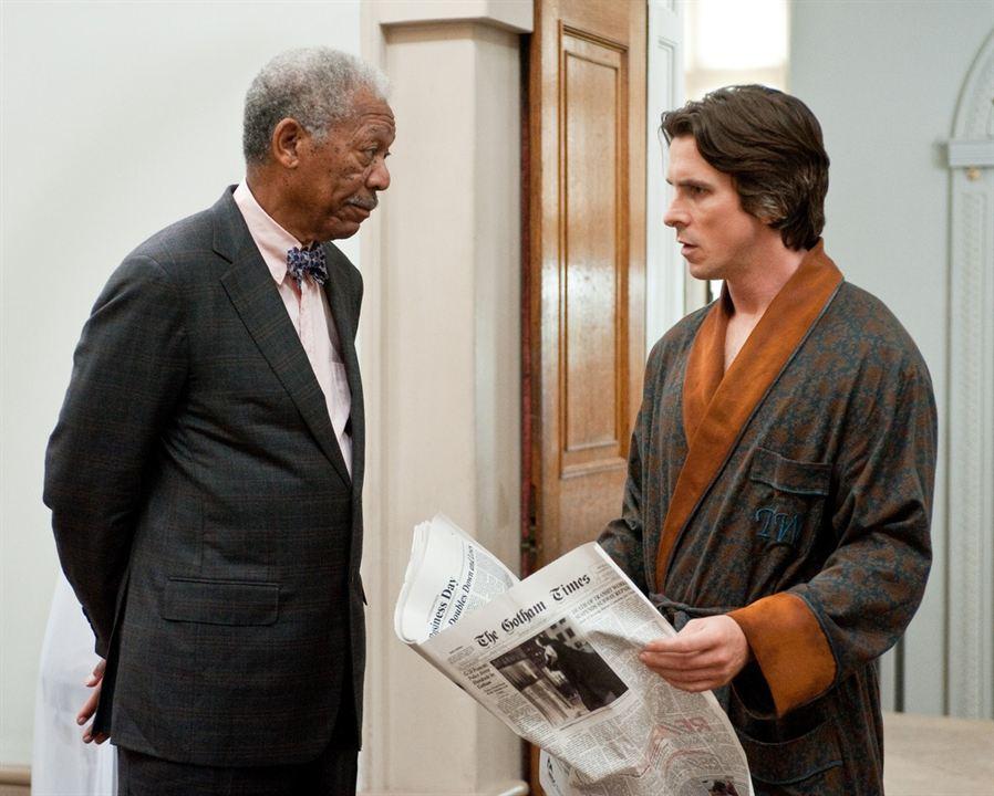 Kara Sövalye Yükseliyor : Fotograf Christian Bale, Morgan Freeman