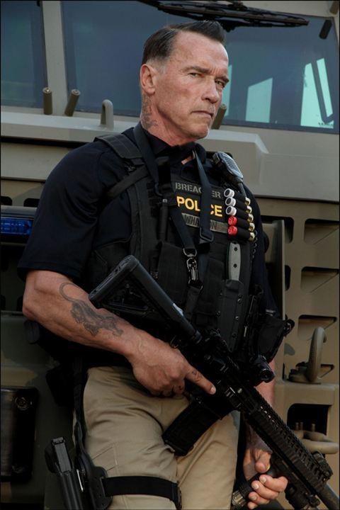 Sabotaj : Fotograf Arnold Schwarzenegger