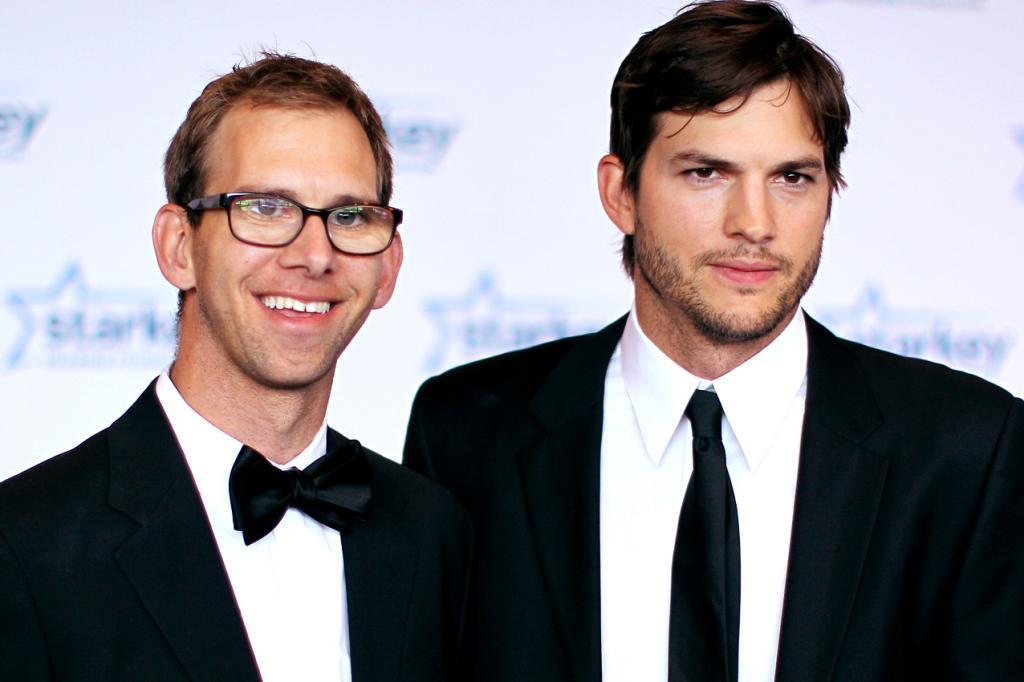 Ashton ve Michael Kutcher