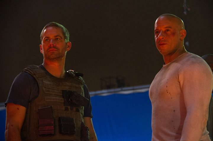 Hizli ve Öfkeli 7 : Fotograf Paul Walker, Vin Diesel