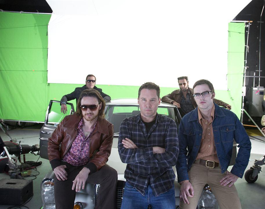 X-Men: Geçmis Günler Gelecek : Fotograf Bryan Singer, Hugh Jackman, James McAvoy, Michael Fassbender, Nicholas Hoult