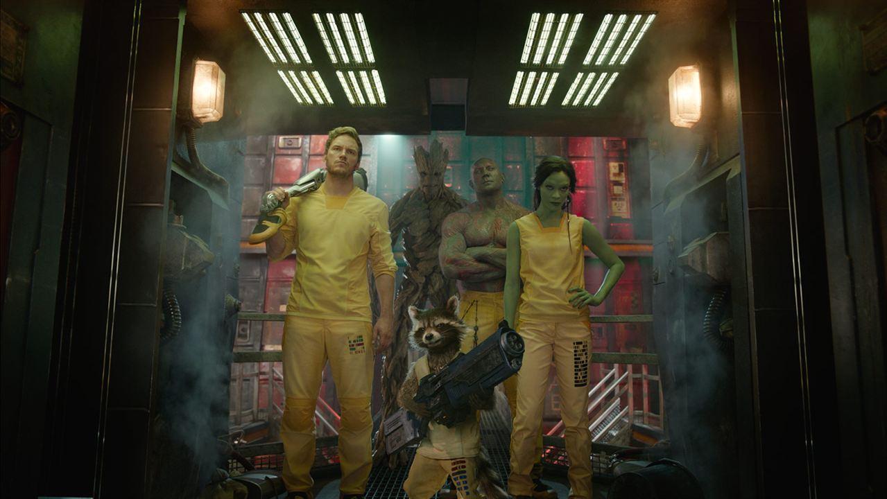 Galaksinin Koruyuculari : Fotograf Bradley Cooper, Chris Pratt, Dave Bautista, Vin Diesel, Zoe Saldana