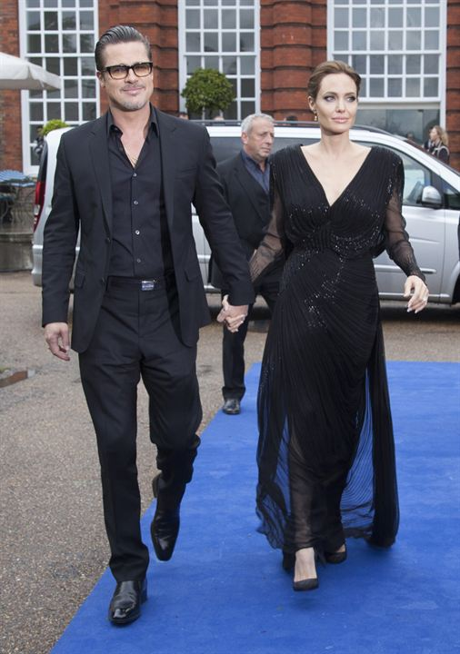 Malefiz : Vignette (magazine) Angelina Jolie, Brad Pitt
