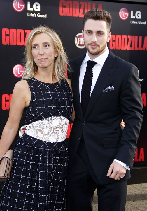 Godzilla 3D : Vignette (magazine) Aaron Taylor-Johnson, Sam Taylor-Johnson