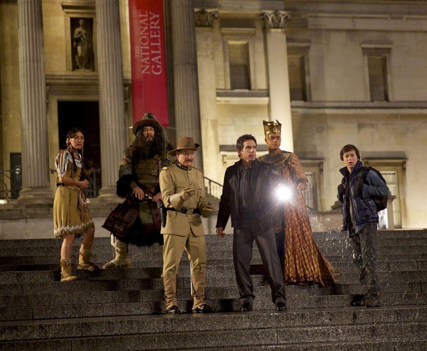 Müzede Bir Gece: Lahitteki Sir : Fotograf Ben Stiller, Mizuo Peck, Patrick Gallagher, Rami Malek, Robin Williams