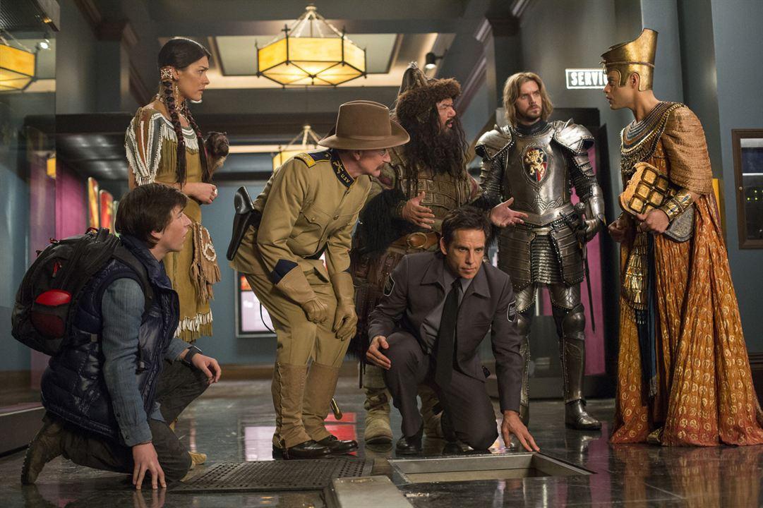 Müzede Bir Gece: Lahitteki Sir : Fotograf Ben Stiller, Dan Stevens, Mizuo Peck, Patrick Gallagher, Rami Malek