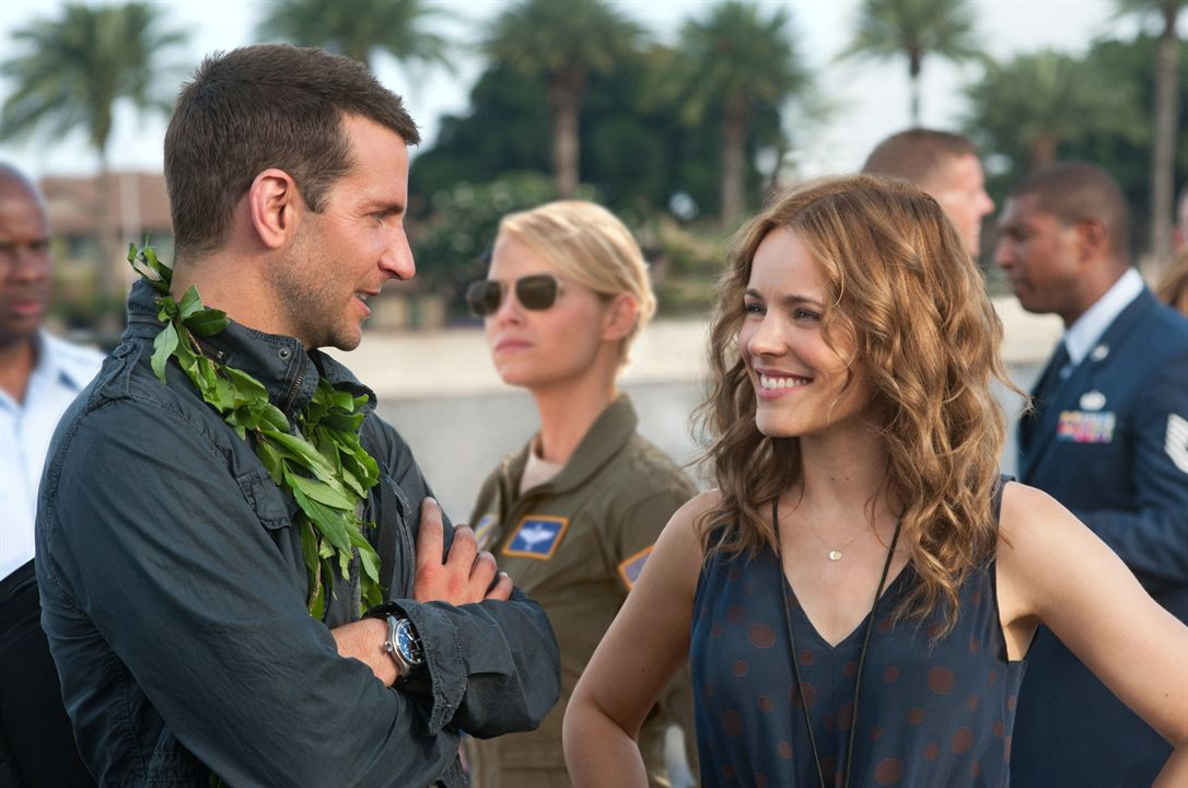 Aloha : Fotograf Bradley Cooper, Emma Stone, Rachel McAdams