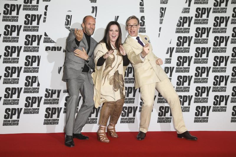 Ajan : Vignette (magazine) Jason Statham, Melissa McCarthy, Paul Feig