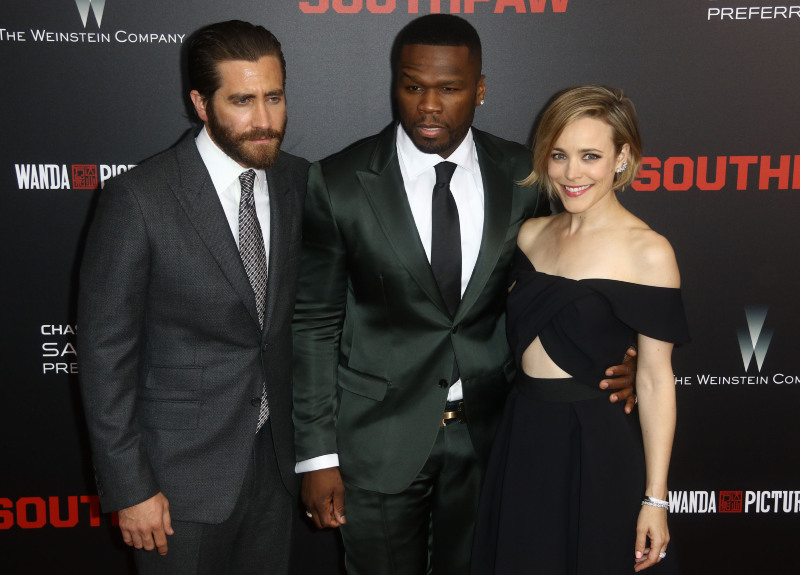 Son Sans : Vignette (magazine) Curtis '50 Cent' Jackson, Jake Gyllenhaal, Rachel McAdams