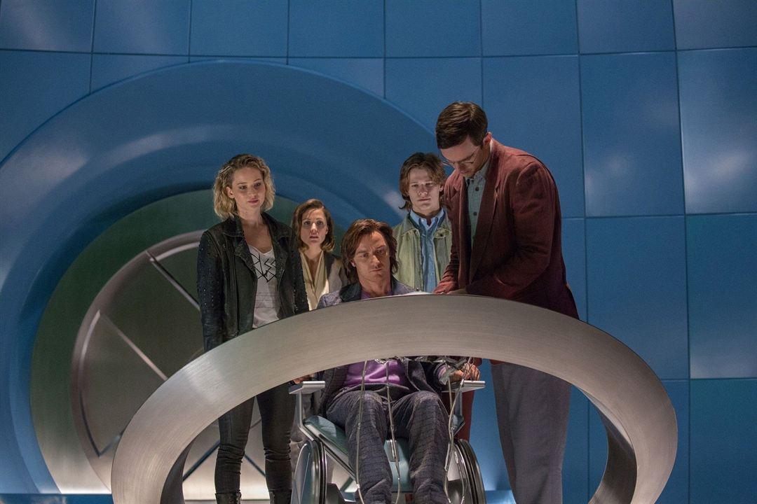 X-Men: Apocalypse : Fotograf James McAvoy, Jennifer Lawrence, Nicholas Hoult