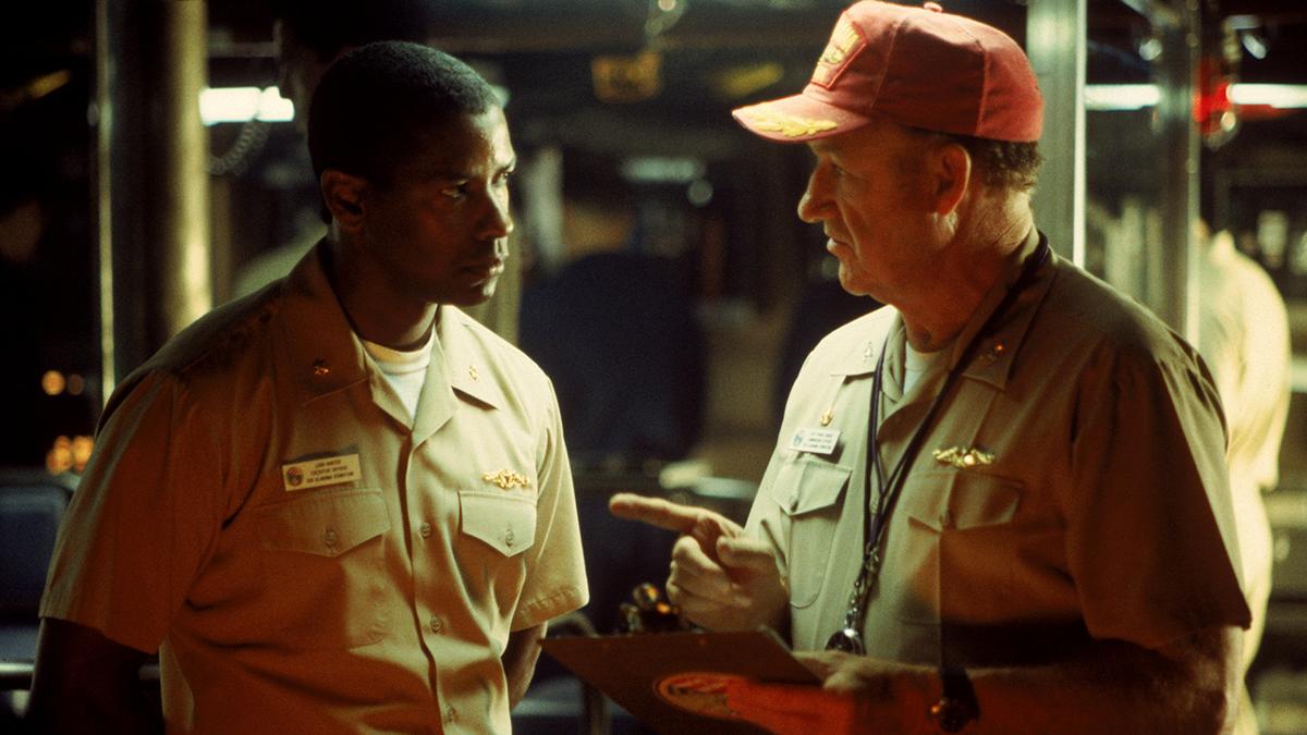 Crimson Tide : Fotograf Denzel Washington, Gene Hackman